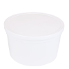 4 qt. HDPE Medium Container with LDPE Lid