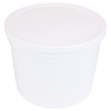 5 qt. HDPE Medium Container with LDPE Lid
