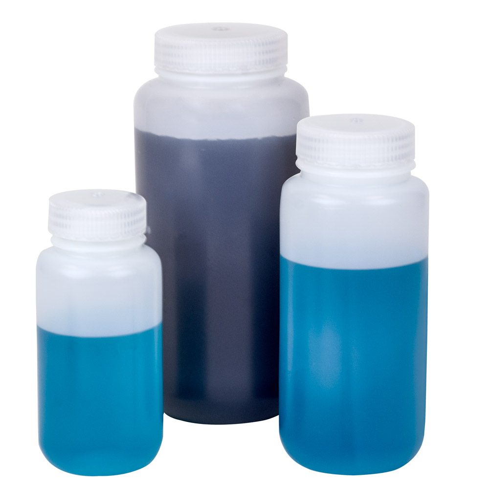 Thermo Scientific™ Nalgene™ Wide Mouth Economy HDPE Bottles