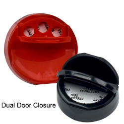 Dual Door Closures