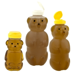 PET & LDPE Honey Bear Bottles