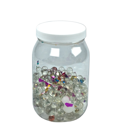 64 oz Pet Clear Jar