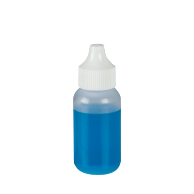 30cc Natural Boston Round Bottle with Dropper Cap