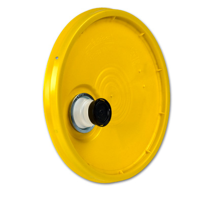 Yellow Bucket Lid With Spout