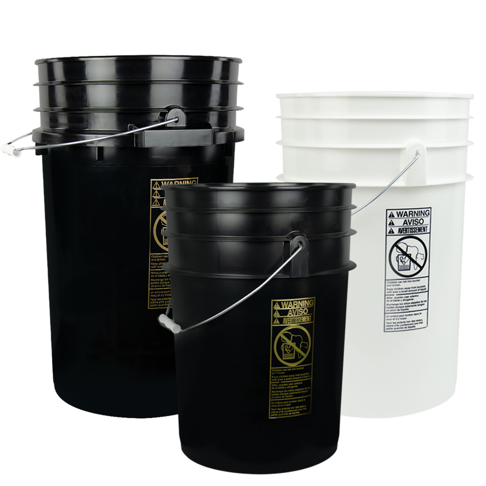 Product Images For 6 6 1 2 Amp 7 Gallon Round Buckets