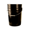 6 Gallon Black Bucket