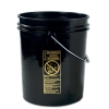 Black 5 Gallon Standard Bucket