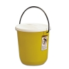 14 Quart Yellow Nalgene® Graduated Air-Tight Pail