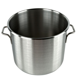 Stainless Steel Stock Pot Storage Container