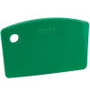 bench scraper mini green