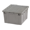 Storage Box with Optional Lock In Place Cover