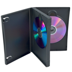 ALPHApak� 3 Disc DVD Case