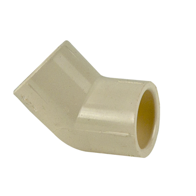 Cts cpvc 45 elbow u s plastic corp for Cpvc hot water
