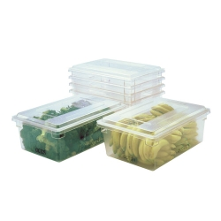 Rubbermaid® Clear Food/Tote Boxes