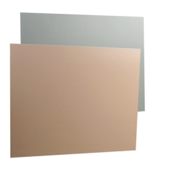 Beige and Gray Expanded High Density Rigid PVC Sheet