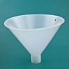 "Large Throat Funnel 10"" Top Dia; 1-3/4"" Spout OD Dia"