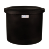 "10-12 Gallon Black Polyethylene Shallow Tank with Cover - 14"" High"