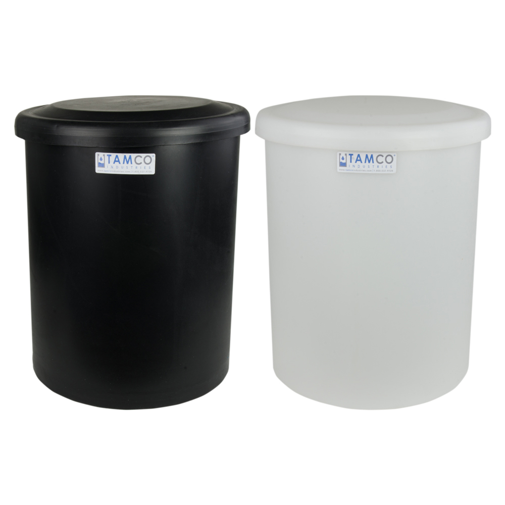 Tamco® Round Polyethylene Tanks with Covers