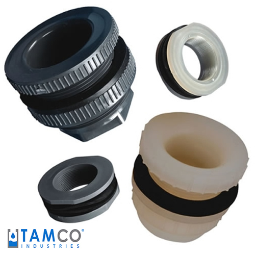 Tamco tank fittings with santoprene gaskets u s