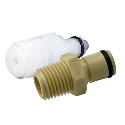 Colder® PMC Series Acetal & Polypropylene Quick Disconnect Fittings
