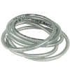 "Wire Reinforced PVC Tubing  1"" I.D.  1.290"" O.D."
