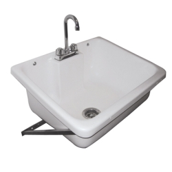 Wall Hung Mop Sink : Wall Mounted Mop Sink U.S. Plastic Corp.