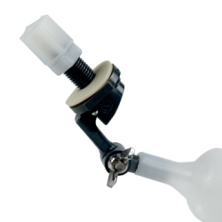 Mini PVC Float Valves Adjustable Tube Inlet