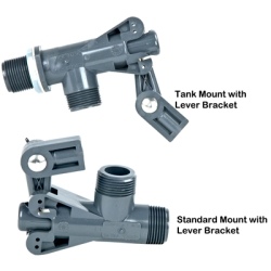 Tank & Standard Mount Float Valves with Lever Brackets