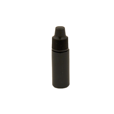 3cc Black dropper bottle with cap