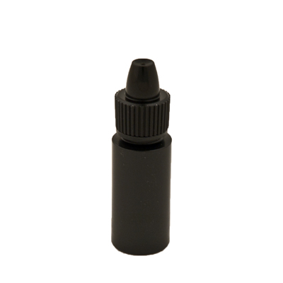 6cc Black Bottle With Dropper Cap