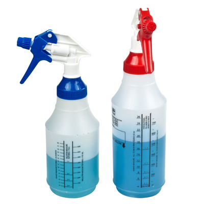 Wide Mouth Spray Bottles