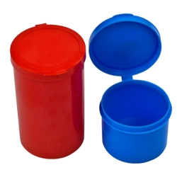 Poly Cons With Hinged Lids 2 Oz.   4 Oz.