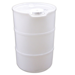 55 Gallon Drum with Pour Spout