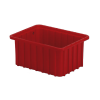 "10-7/8"" L x 8-1/4"" W x 5"" H Red Divider Box"