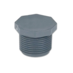 PVC Schedule 80 Threaded Plugs