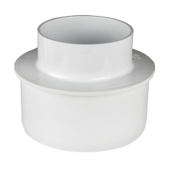 White PVC Reducer Bushing
