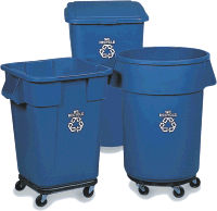 rubbermaid recycling containers - Rubbermaid Garbage Cans