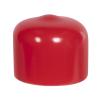 "Red Vinyl Cap - 5/8"" Cap ID x 1/2"" Inside Length"