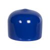 """Blue Vinyl Cap - 5/8"""" Cap ID x 1/2"""" Inside Length"""