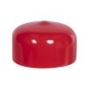 "Red Vinyl Cap - 1"" Cap ID x 1/2"" Inside Length"