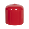 "Red Vinyl Cap - 1"" Cap ID x 1"" Inside Length"