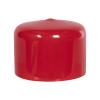 "Red Vinyl Cap - 1-1/2"" Cap ID x 1"" Inside Length"