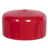 "Red Vinyl Cap - 2"" Cap ID x 1"" Inside Length"