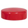 "Red Vinyl Cap - 5"" Cap ID x 1-3/8"" Inside Length"