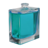 50mL Clear Squat Rectangle Glass Perfume Bottle with 15mm Neck (Accessories Sold Separately)