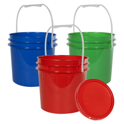 Economy 1 Gallon Buckets & Lids