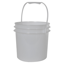 Natural 1 Gallon Bucket (Lid Sold Separately)