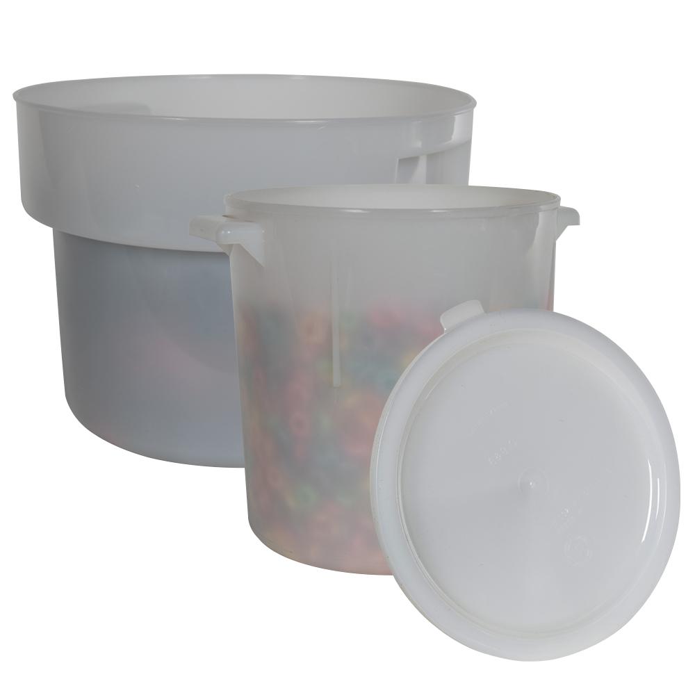 White Polyethylene Bains Marie