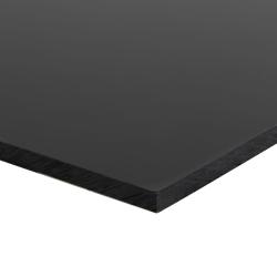 "1/8"" x 48"" x 96"" Black HDPE Sheet"
