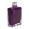 1/2 oz. Clear Rectangular Glass Bottle with 13/415 Neck (Cap Sold Separately)